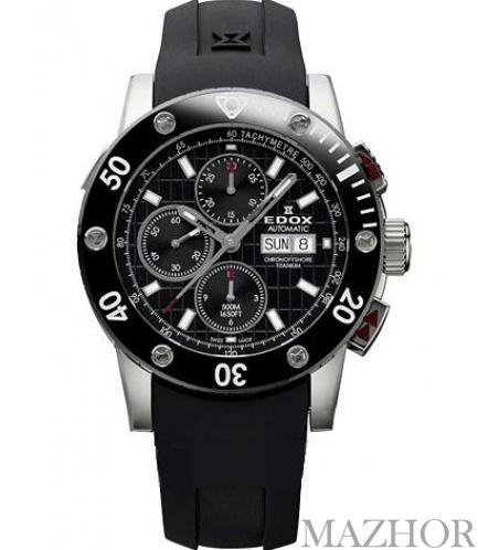 Часы EDOX Class 1 Titanium 01107 TIN NIN - Фото №1