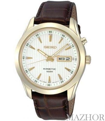Мужские часы Seiko Classic Kinetic SMY110P1 - Фото №1