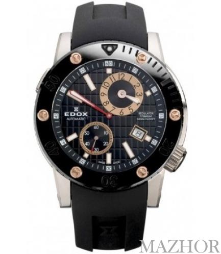 Часы EDOX Class 1 Titanium 77001 TINR NIR - Фото №1
