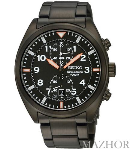 Мужские часы Seiko Chronograph Classic SNN237P1 - Фото №1