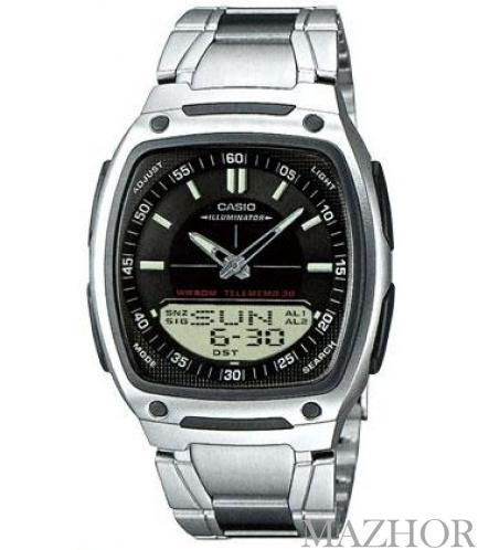 Часы Casio Combination AW-81D-1AVEF - Фото №1