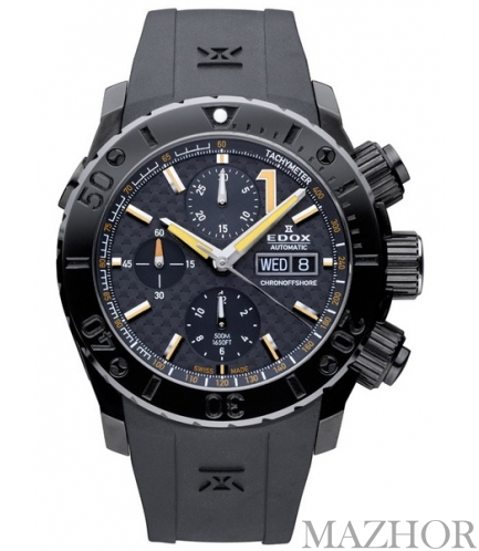 Мужские часы EDOX Class 1 01111 37NO NIO - Фото №1