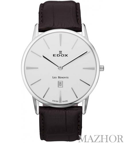 Мужские часы EDOX Les Bemonts 26023 3 AIN - Фото №1