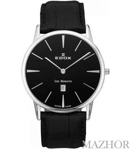 Мужские часы EDOX Les Bemonts 26023 3 NIN - Фото №1