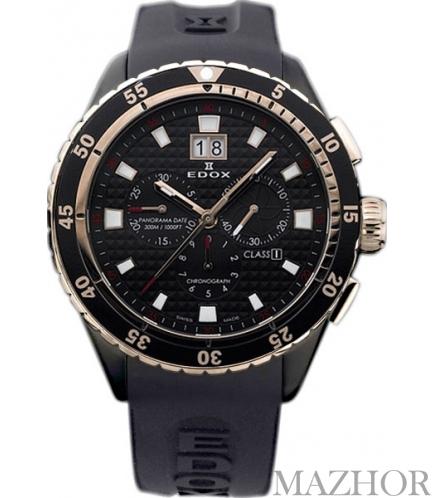 Мужские часы EDOX Class 1 10016 357RN NIR - Фото №1