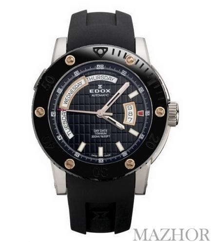 Мужские часы EDOX Class 1 83005 TINR NIR 2 - Фото №1