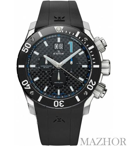 Мужские часы Edox Class 1 10020 3 NBU - Фото №1