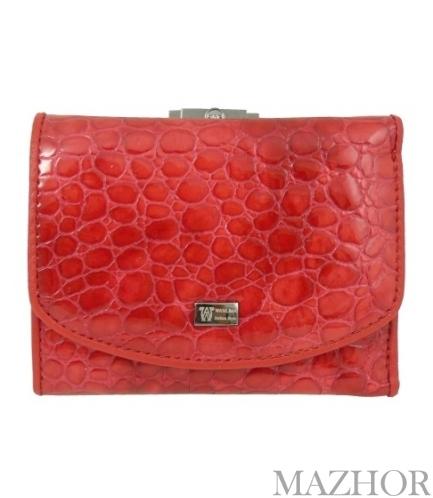 Женский кожаный кошелёк Wanlima W11044690016 - Фото №1