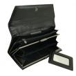Женский кожаный кошелёк Wanlima W50040230166-black - Фото №4
