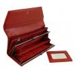 Женский кожаный кошелёк Wanlima W50040230166-red - Фото №4