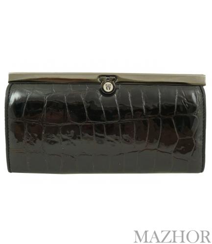 Женский кожаный кошелёк Wanlima 6749 - Фото №1