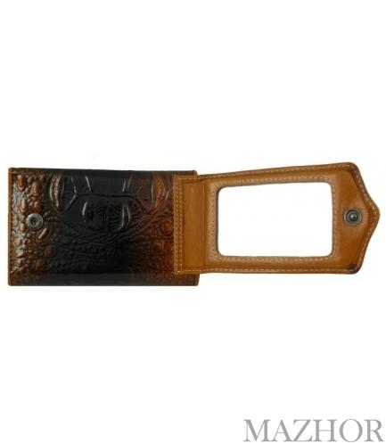 Женский кожаный кошелёк-ключница Wanlima W72092420792 - Фото №1