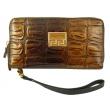 Женский кожаный кошелёк-клатч Wanlima W82022340003 - Фото №2