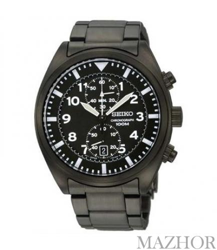 Мужские часы Seiko Chronograph Classic SNN233P1 - Фото №1