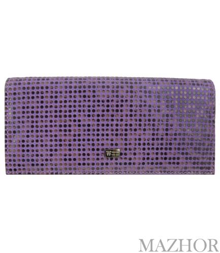 Женский кошелек Wanlima W110447400131-violet - Фото №1