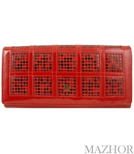 Женский кошелек Wanlima W110447400132-red - Фото №1