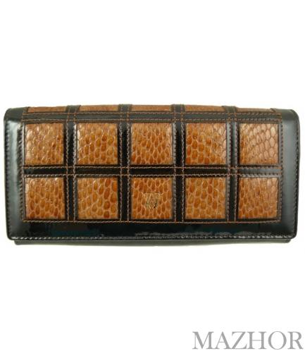 Женский кошелек Wanlima W110447400132light-coffee - Фото №1