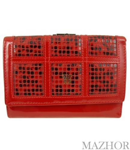 Женский кошелек Wanlima W110447404302-red - Фото №1