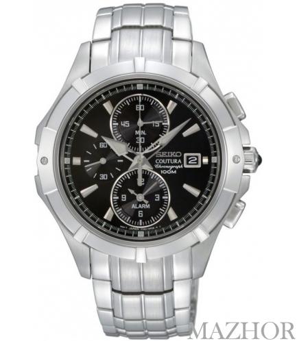 Мужские часы Seiko Coutura Alarm Chronograph SNAE73P1 - Фото №1