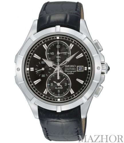 Мужские часы Seiko Coutura Alarm Chronograph SNAE73P2 - Фото №1