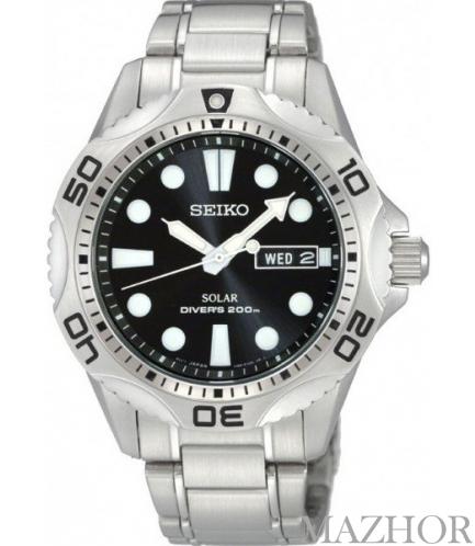 Мужские часы Seiko Solar Divers SNE107P1 - Фото №1