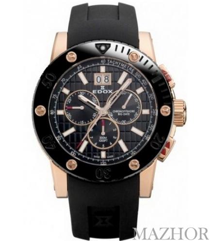 Мужские часы Edox 10014 37RNC NIR - Фото №1