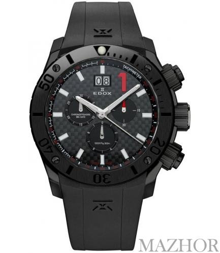 Мужские часы Edox 10014 37NC NRO - Фото №1