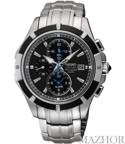 Мужские часы Seiko Coutura Alarm Chronograph SNAF11P1 - Фото №1