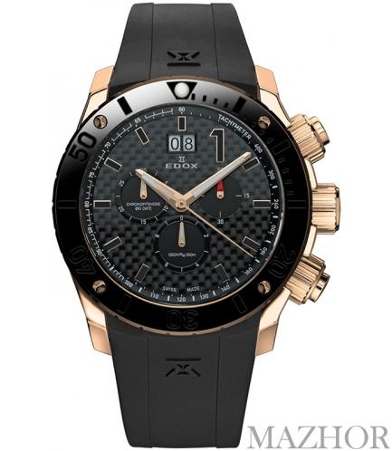 Мужские часы Edox Class 1 10020 37R NIR - Фото №1