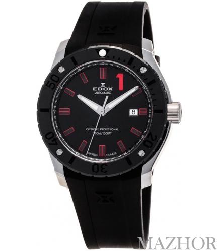 Мужские часы Edox Class 1 1395 80088 3N NRO - Фото №1