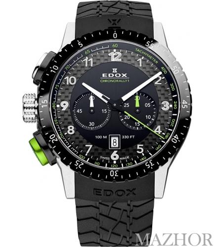 Мужские часы Edox Class 1 10305 3NV NV - Фото №1