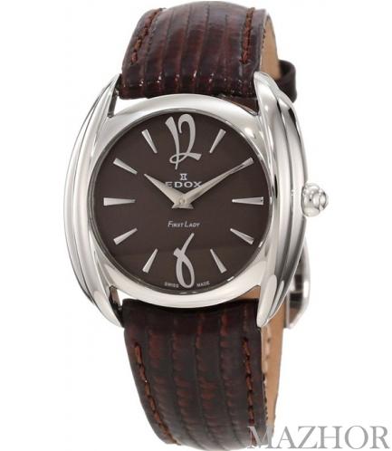 Женские часы Edox First Lady 21230 3 BRIN - Фото №1