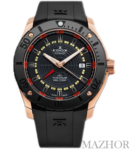 Мужские часы Edox Class 1 93005 37R NOJ - Фото №1