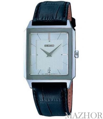 Мужские часы Seiko Classic Leather SKP301P1 - Фото №1