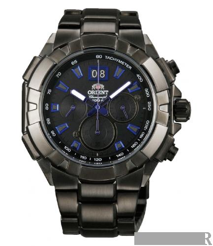 Мужские часы Orient Chronograph FTV00001B0 - Фото №1