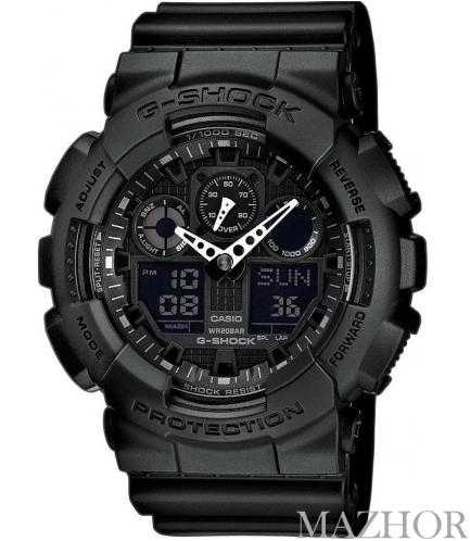 Мужские часы Casio G-Shock GA-100-1A1ER - Фото №1