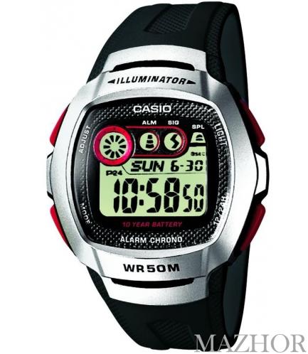 Часы Casio Standard Digital W-210-1DVEF - Фото №1