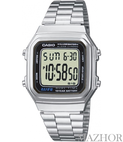 Часы Casio Standard Digital A178WEA-1A - Фото №1
