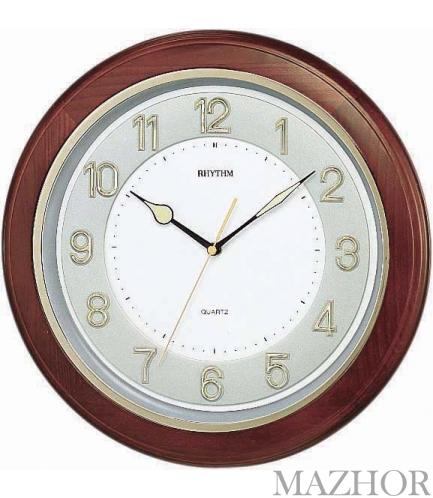 часы настенные ритм бесшумные инструкция