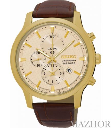 Мужские часы Seiko Chronograph SNDG70P1 - Фото №1