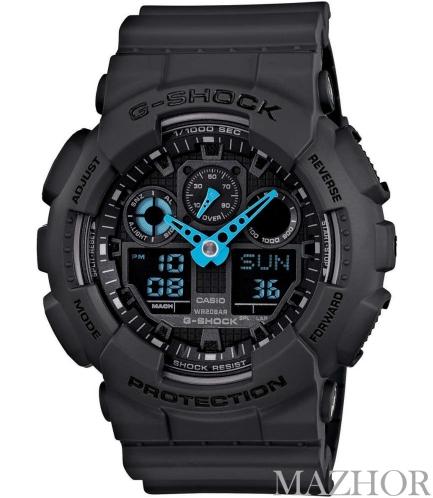 Мужские часы Casio G-Shock GA-100C-8AER - Фото №1