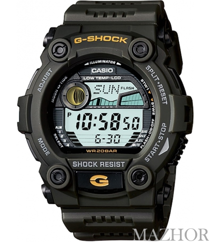 Часы Casio G-Shock G-7900-3DR - Фото №1