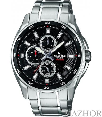 Мужские часы Casio Edifice EF-334D-1AVEF - Фото №1