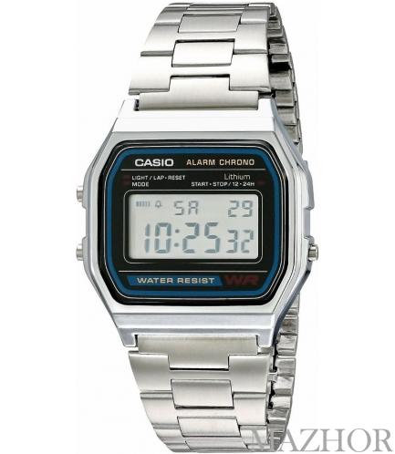 Часы Casio Standard Digital Vintage Series A158WA-1DF - Фото №1