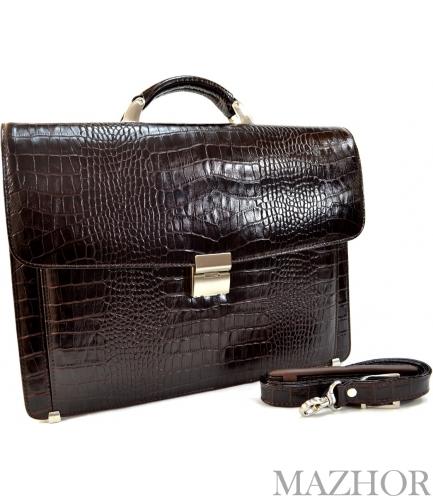 Портфель Desisan 206MZ_brown_croco - Фото №1