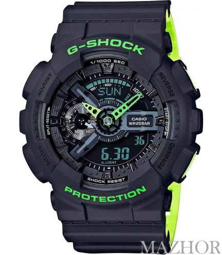 Мужские часы Casio G-Shock Special Color Models GA-110LN-8A - Фото №1