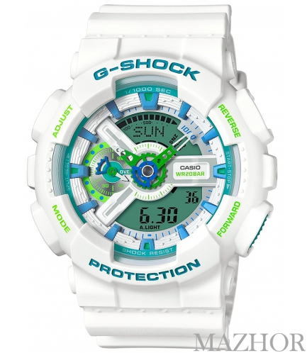 Часы Casio G-Shock Special Color Models GA-110WG-7A - Фото №1