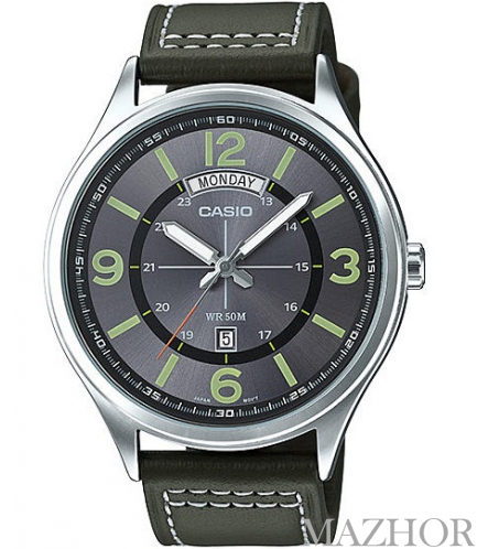 Мужские часы Casio Standard Analogue MTP-E129L-3AV - Фото №1