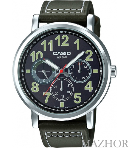 Мужские часы Casio Standard Analogue MTP-E309L-3A - Фото №1