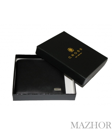 Портмоне CROSS Insignia OVERFLAP COIN WALLET горизонтальное AC248364B-1 - Фото №1